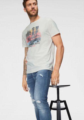 JACK & JONES Jack & Jones Marškinėliai »NEW PLEO TE...