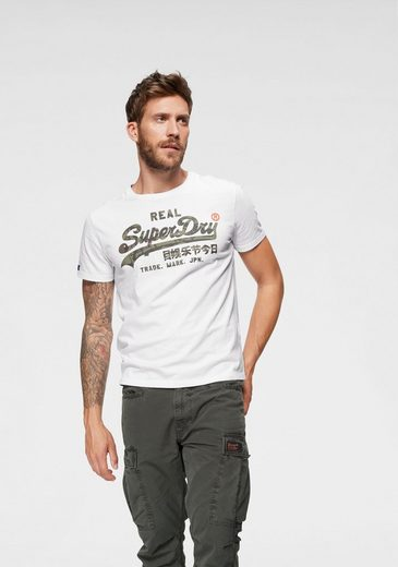 Superdry T-Shirt »VINTAGE LOGO CAMO INFILL TEE«