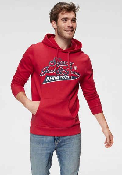 18098c6cf6b286 Jack   Jones Kapuzensweatshirt »LOGO SWEAT HOOD«
