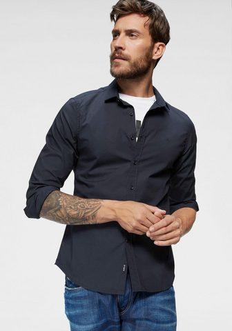 REPLAY Marškiniai ilgomis rankovėmis