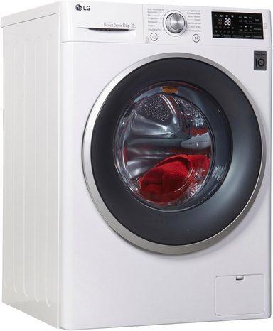 LG Waschmaschine F 14WM 8CN1, 8 kg, 1400 U/Min, Vollwasserschutzsystem