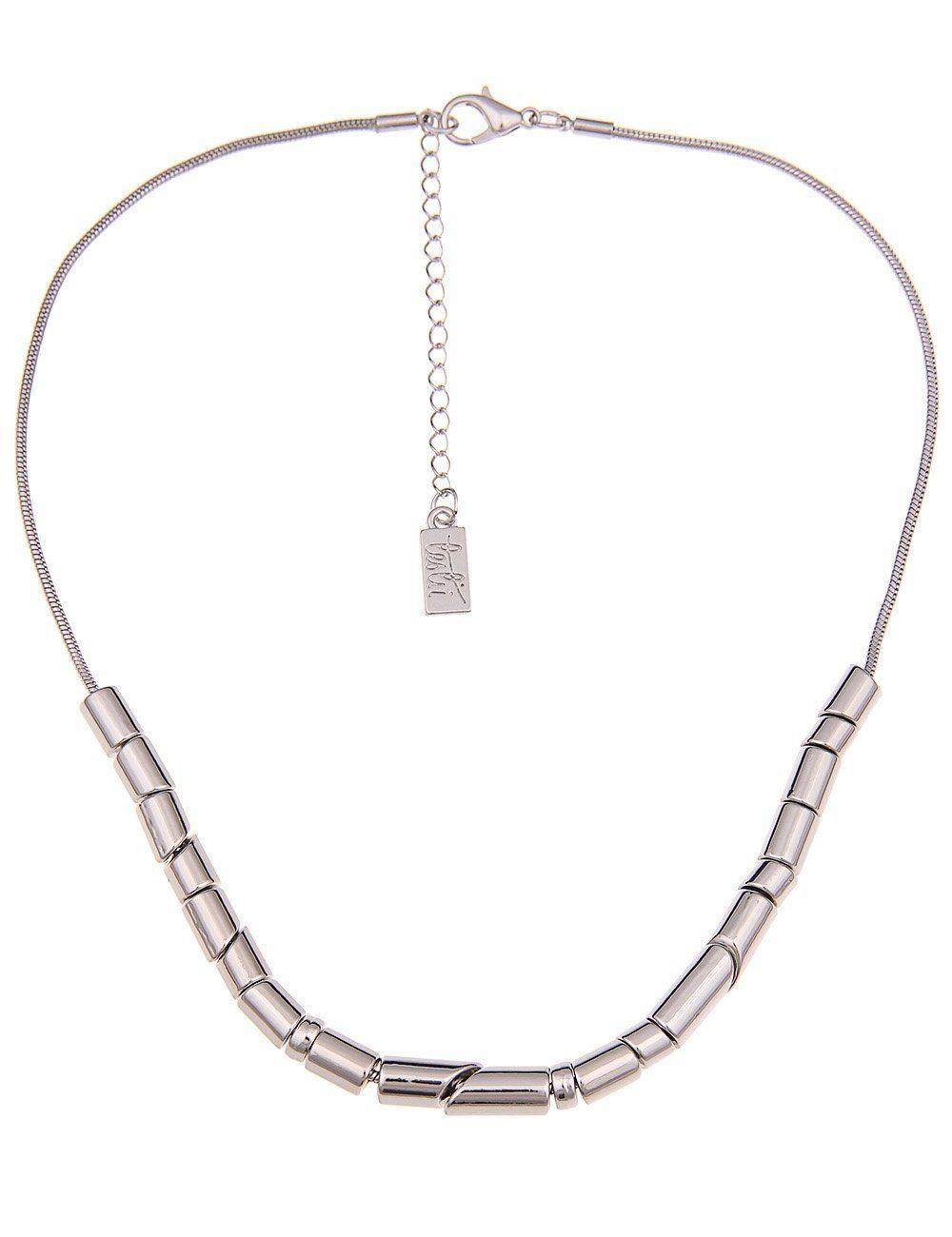 Leslii Halskette mit Hochglanz-Gliedern