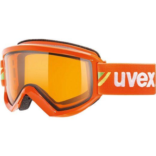 Uvex Skibrille fire race orange dl/lgl