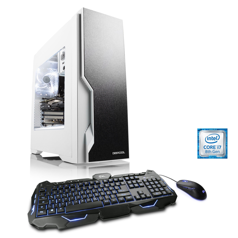 CSL Extreme Gaming PC | Core i7-8700K | GTX 1080 | 32 GB DDR4 | SSD »HydroX T9285 Wasserkühlung«