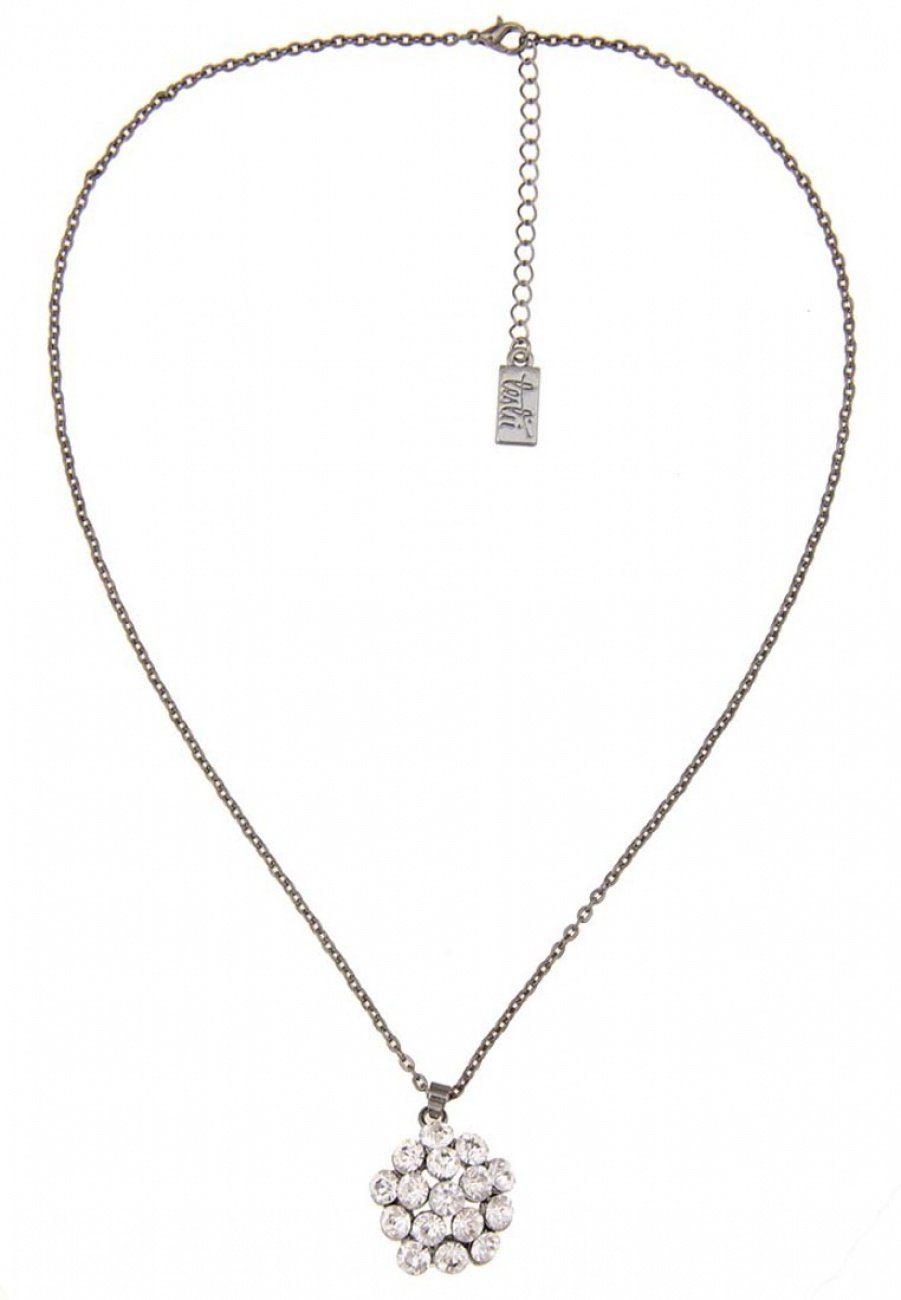 Leslii Halskette mit funkelndem Steinbesatz