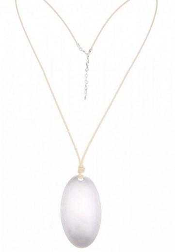 leslii Halskette mit Oval-Anhänger
