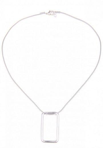 leslii Halskette mit rechteckigem Anhänger