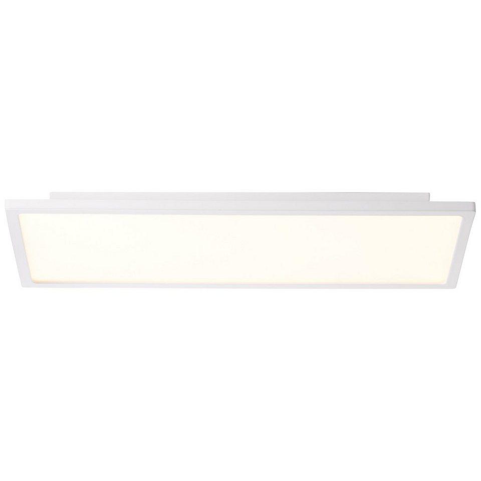 Brilliant Leuchten Ceres LED Deckenaufbau-Paneel 45x20cm weiß ...