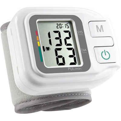 Medisana Handgelenk-Blutdruckmessgerät HGH 51430 - Blutdruckmessgerät - weiß