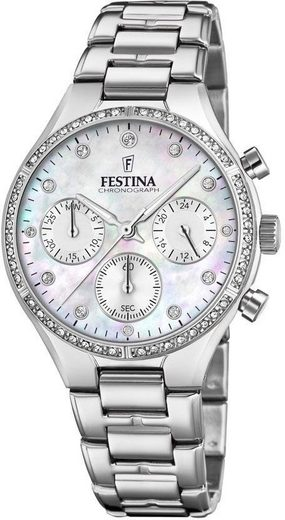 Festina Chronograph »Chrono Lady, F20401/1«, mit kleiner Sekunde