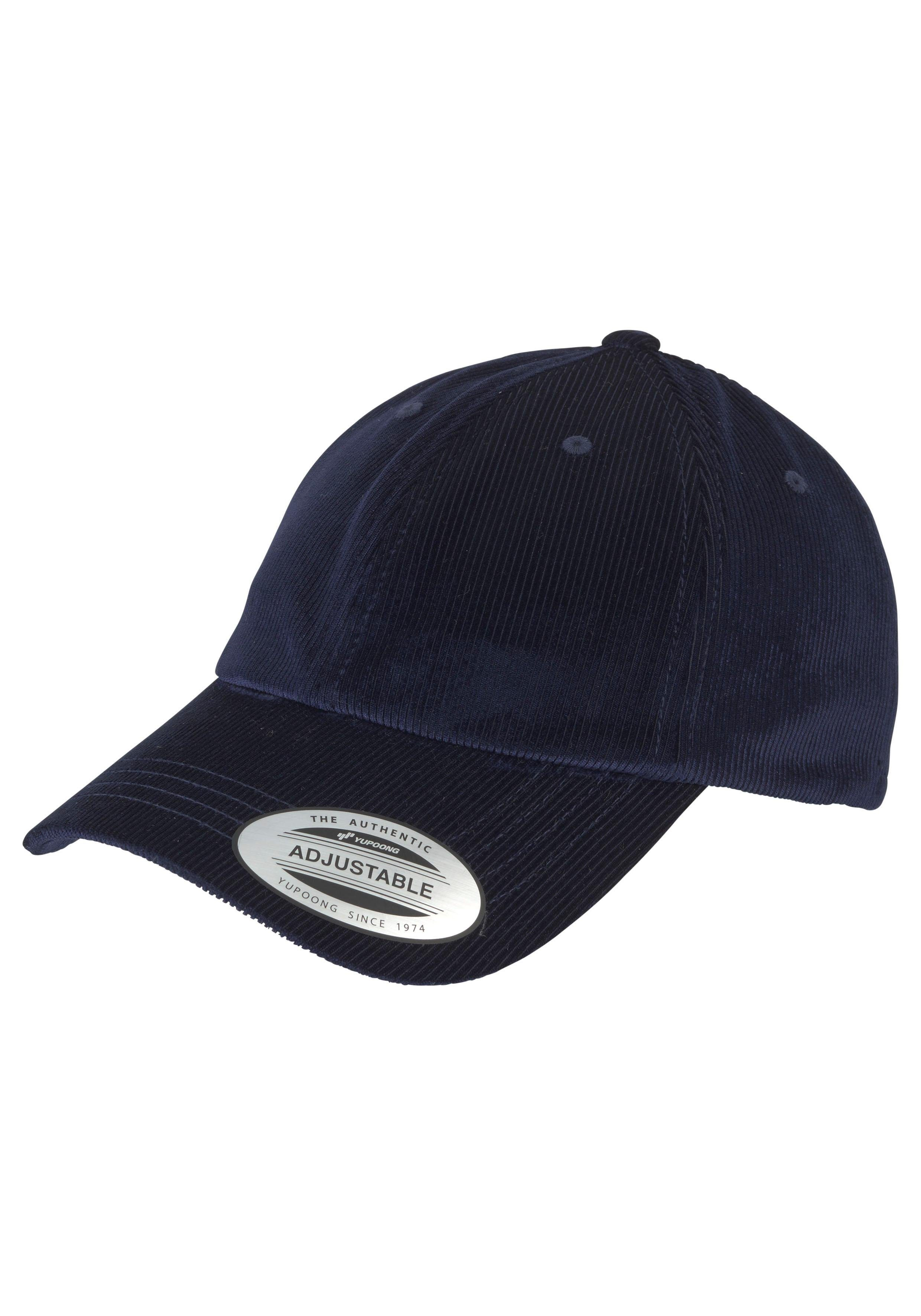 Flexfit Baseball Cap (1-St) Corduroy Satin Dad Cap, Verstellbar