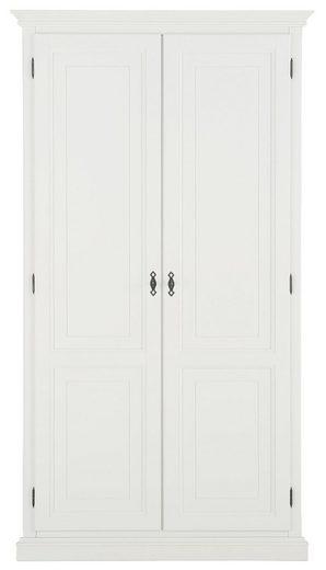 Premium collection by Home affaire Kleiderschrank »Kodia« aus massiver Buche und hochwertig verarbeitete MDF-Fronten