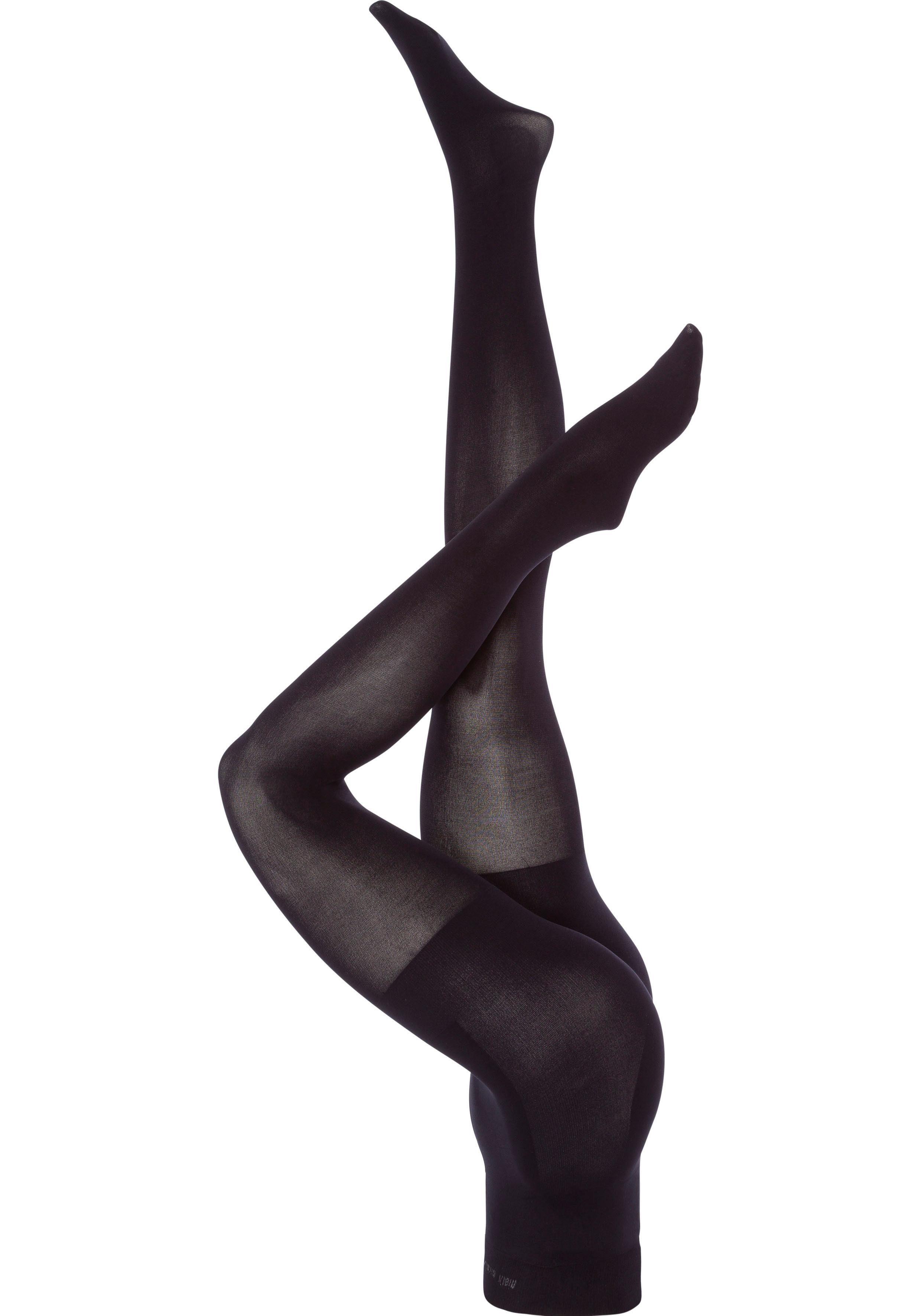 Calvin Klein Feinstrumpfhose 80 DEN (1 Stück) mit hohem Bund leicht formend