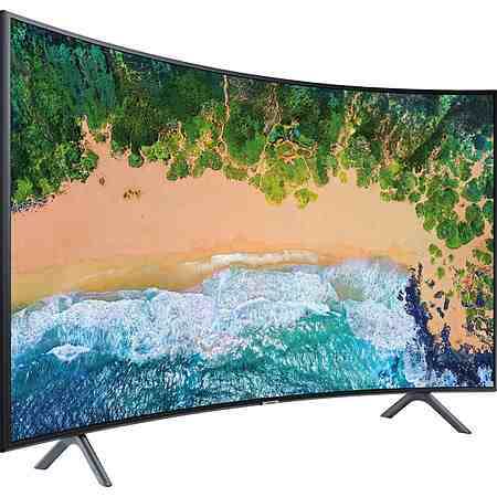 Fernseher: Curved TV