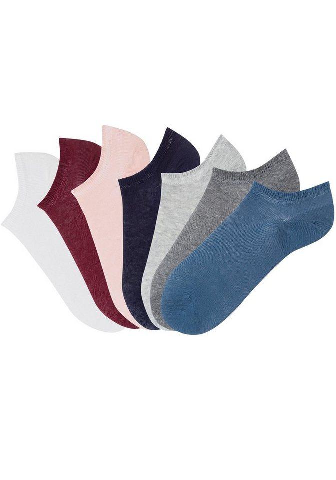 Arizona Sneakersocken (7 Paar) in verschiedenen Farben   Sportbekleidung > Funktionswäsche   Bunt   Polyamid   Arizona