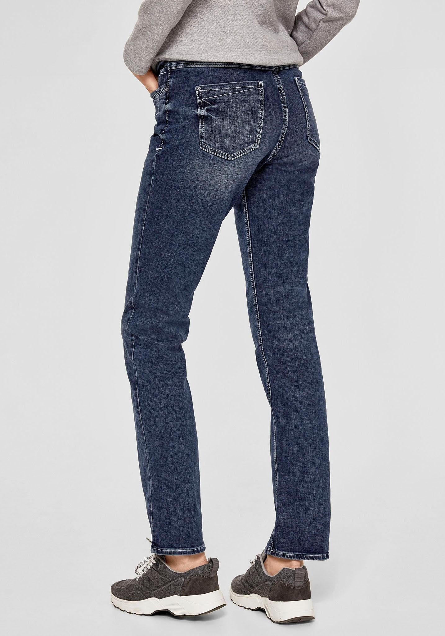 s.Oliver RED LABEL Straight-Jeans in 4 verschiedenen Jeanslängen