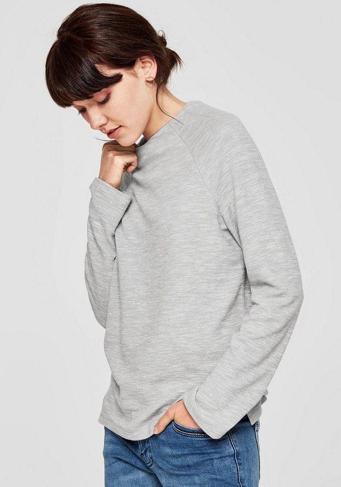 s oliver red label sweatshirt lange raglan rmel online. Black Bedroom Furniture Sets. Home Design Ideas