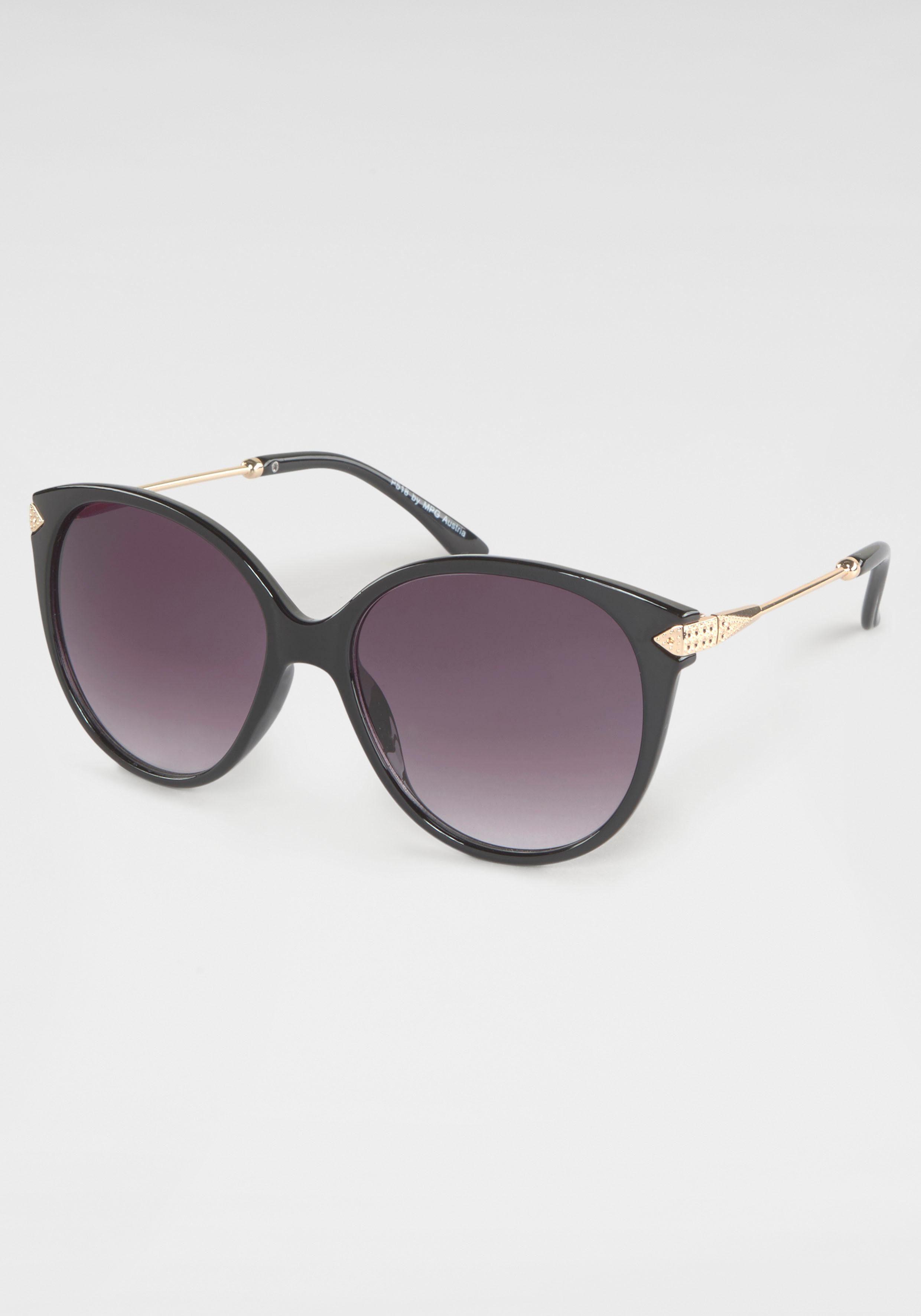 Sonnenbrille (1-St) Oversize, Retro-Look, Vollrand