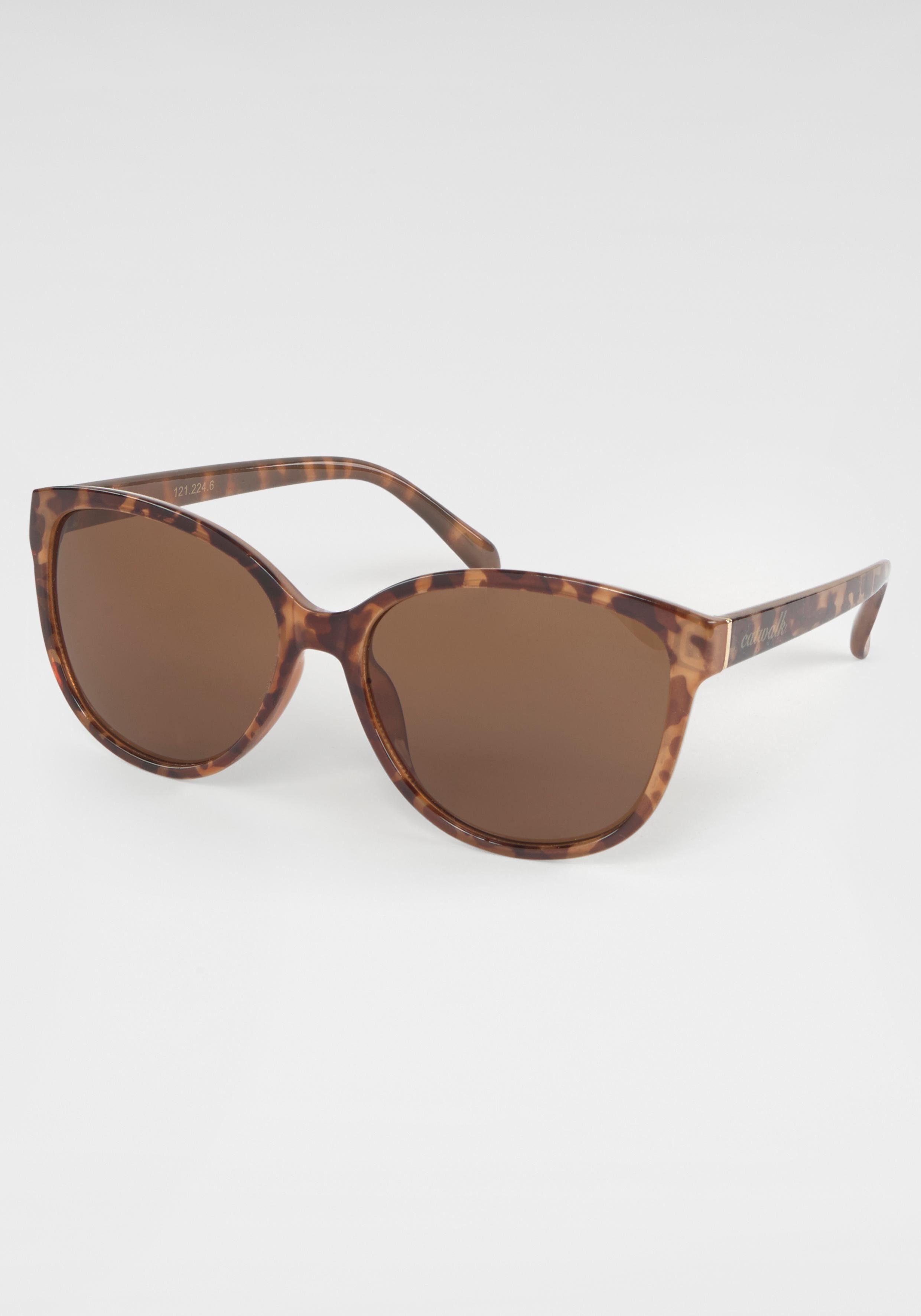 catwalk Eyewear Sonnenbrille Damen Sonnenbrille, Animal Look