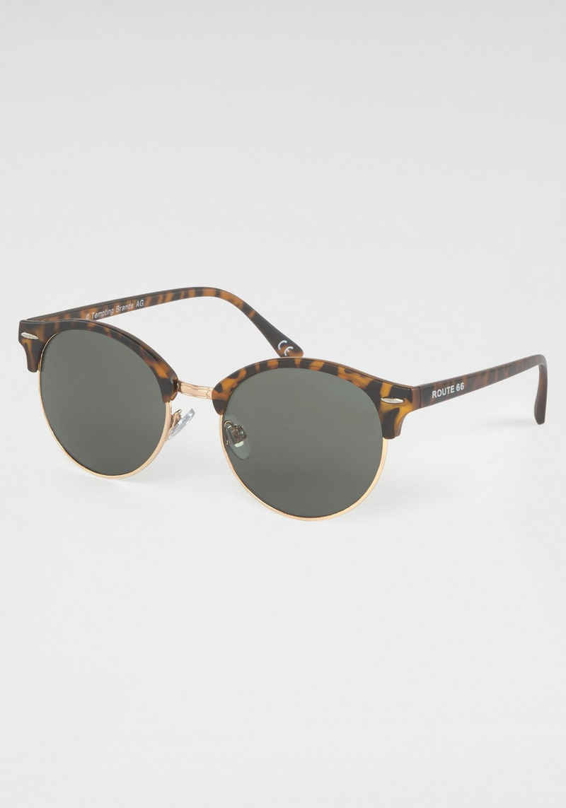 ROUTE 66 Feel the Freedom Eyewear Sonnenbrille Vollrand