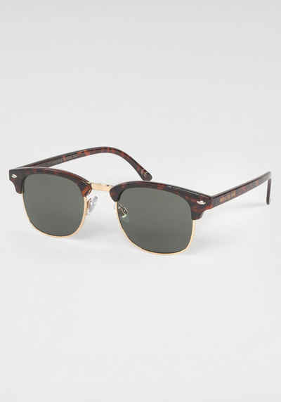 ROUTE 66 Feel the Freedom Eyewear Sonnenbrille Damen Sonnenbrille,  Clubmaster Style, Animal Look bc18970d59