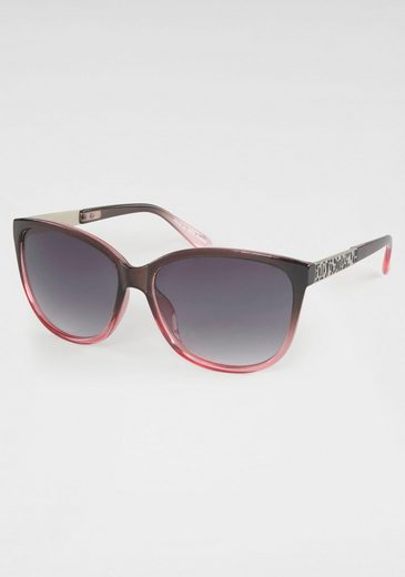 Sonnenbrille Zweifarbig, Oversize-Form