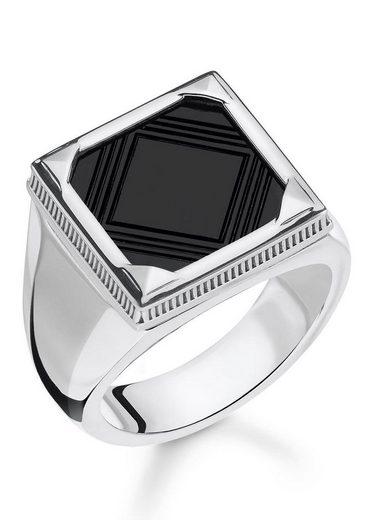 THOMAS SABO Silberring »Onyx, TR2211-698-11-60, 62, 64, 66, 68«, mit Onyx