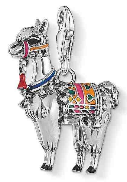 """THOMAS SABO Charm-Einhänger »Charm-Anhänger """"Lama"""", 1694-664-7«"""