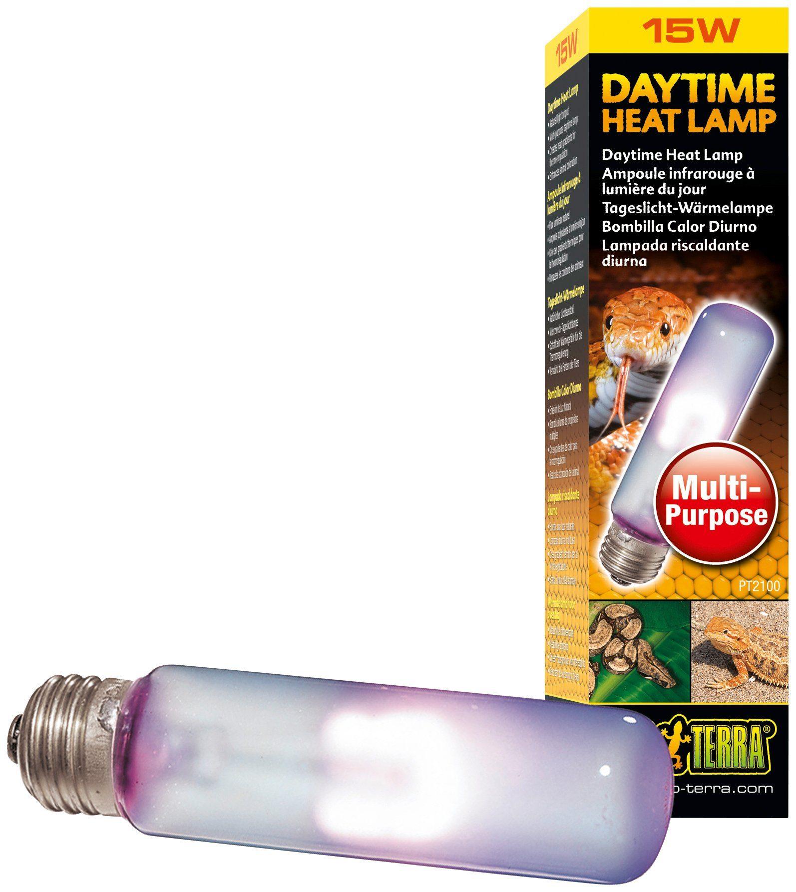 EXO TERRA Terrarienbeleuchtung »Daytime Heat Lamp«, 15 W, T10