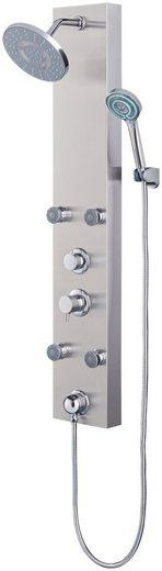 Duschsäule »Edelstahlduschsäule LED«