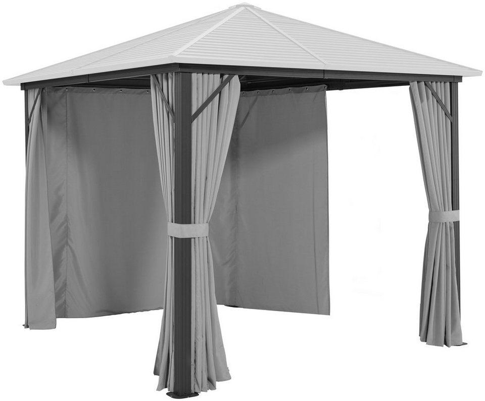 konifera seitenteile f r pavillon barbados f r 3x3 m 4 stk online kaufen otto. Black Bedroom Furniture Sets. Home Design Ideas