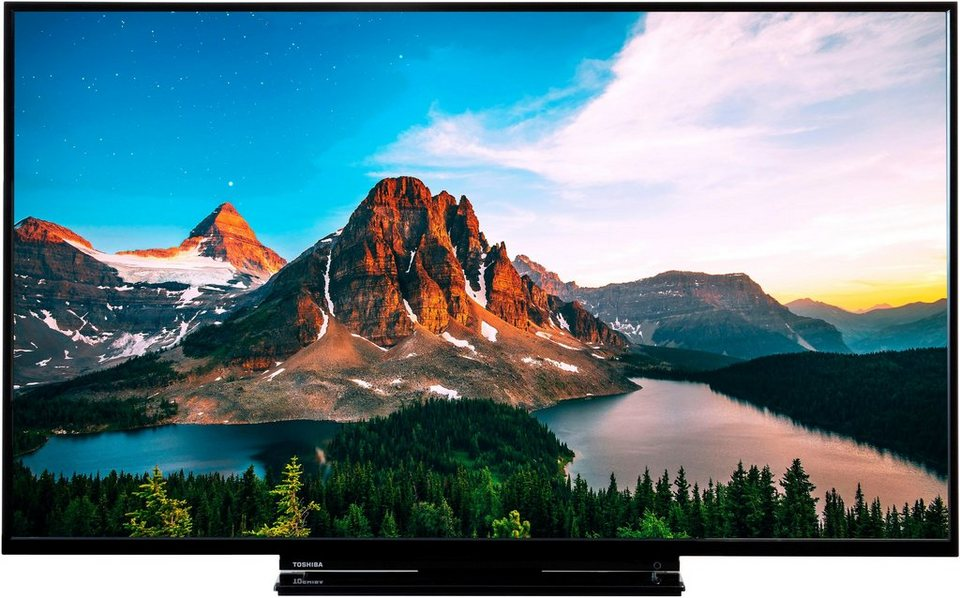 toshiba 55v5863da led fernseher 140 cm 55 zoll 4k ultra. Black Bedroom Furniture Sets. Home Design Ideas