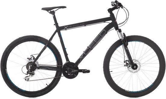 KS Cycling Mountainbike »XCEED«, 24 Gang Shimano Acera Schaltwerk, Kettenschaltung