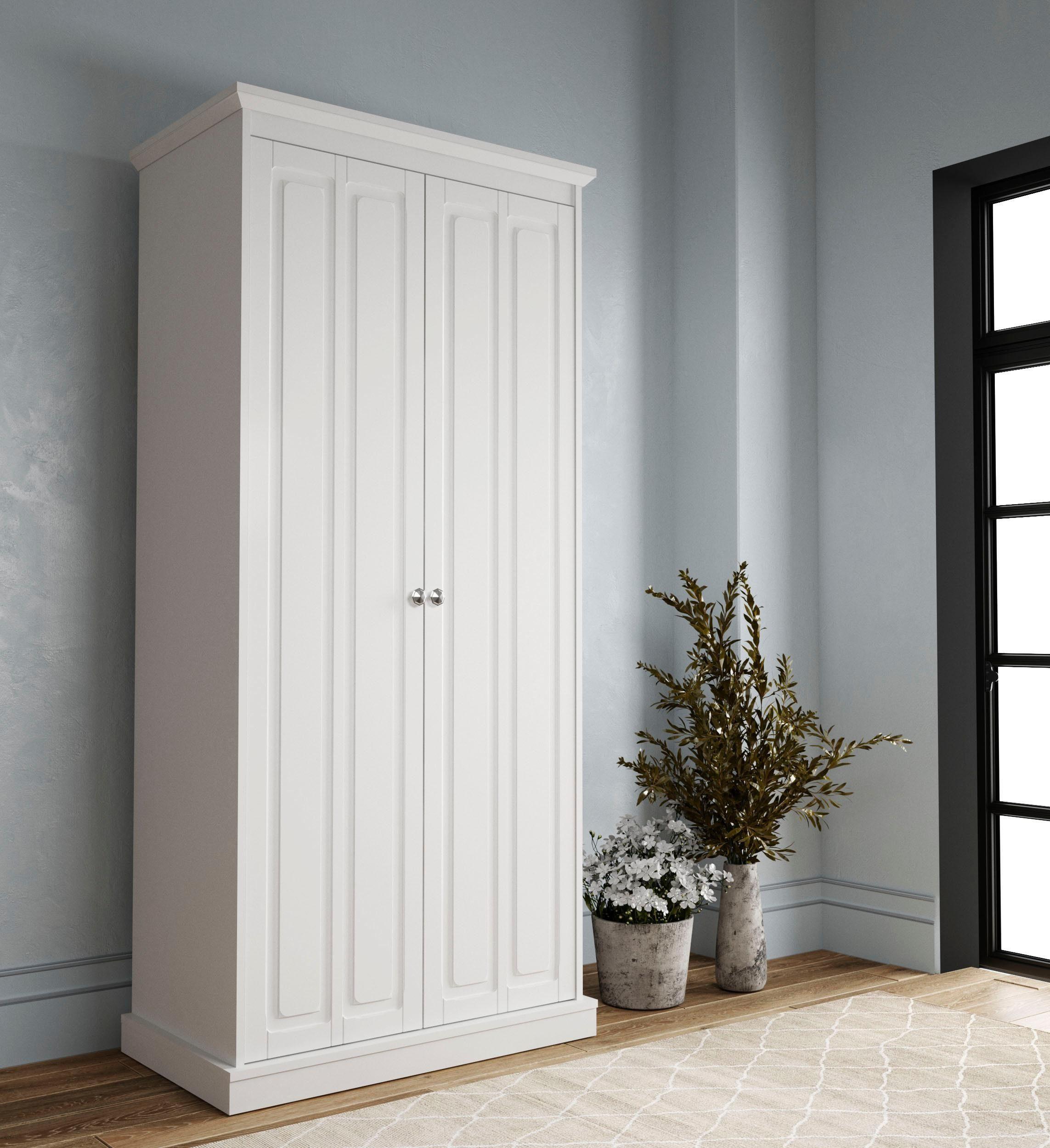 Home affaire Kleiderschrank »Barthe«, 2-türig, 86 cm breit