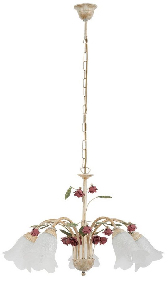pendelleuchte rosa 5 flammig online kaufen otto. Black Bedroom Furniture Sets. Home Design Ideas