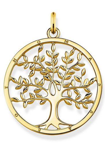 """THOMAS SABO Runder Anhänger »Anhänger """"Tree of Love gold"""", PE823-413-39«"""
