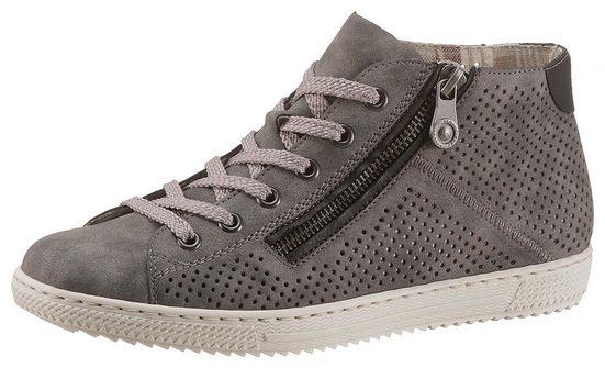 Rieker Sneaker mit zusätzlichem Reißverschluss