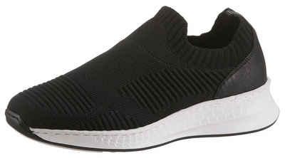 e0596fd599514d Rieker Slip-On Sneaker mit sockenähnlichem Einstieg