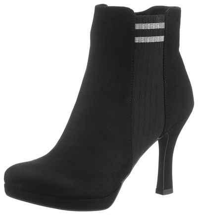 ec22f47519c4d4 Tamaris High-Heel-Stiefelette mit Stretcheinsatz