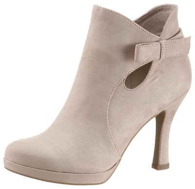 6e43591d5f4cf0 Tamaris High-Heel-Stiefelette mit dezenter Zierschleife