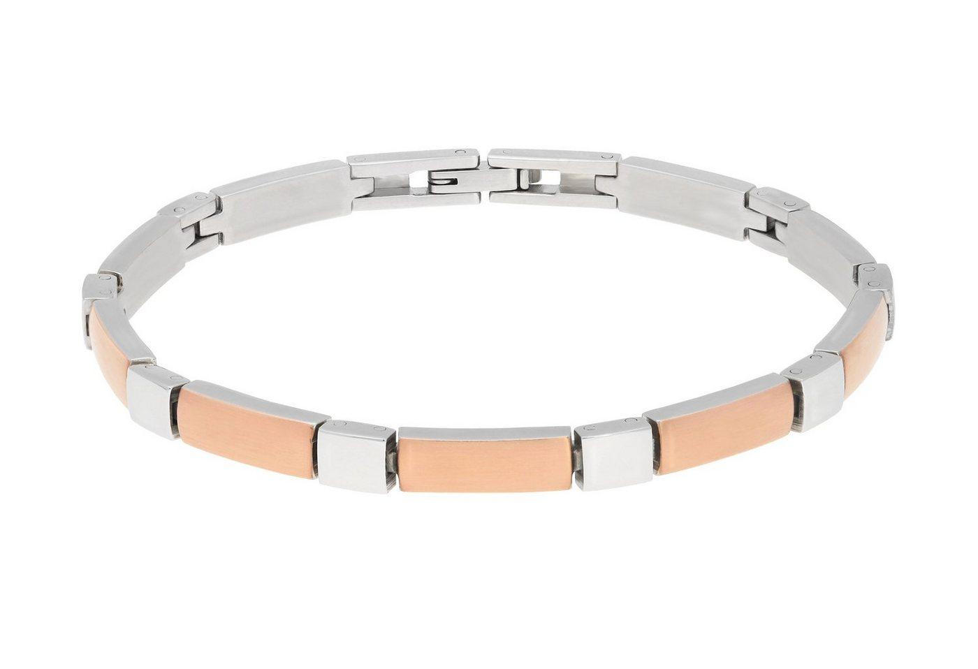 TITANIA Gliederarmband »Titanarmband« bicolor | Schmuck > Armbänder > Gliederarmbänder | TITANIA