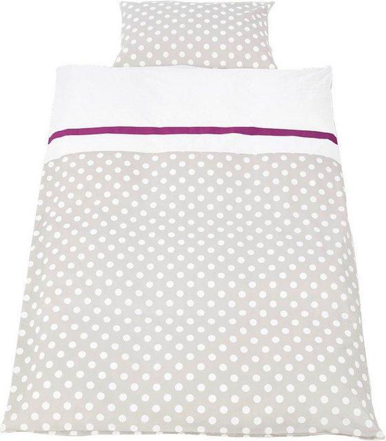 Babybettwäsche »Punkte«, Pinolino®, mit niedlichen bunten Punkten | Kinderzimmer > Textilien für Kinder > Kinderbettwäsche | Baumwolle | Pinolino®