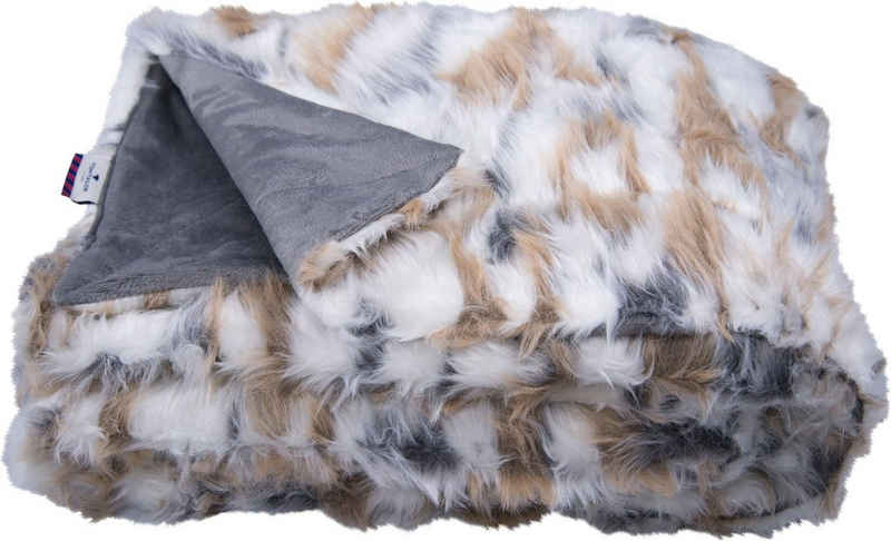 Wohndecke »Cosy Fur«, TOM TAILOR, in Echtfelloptik