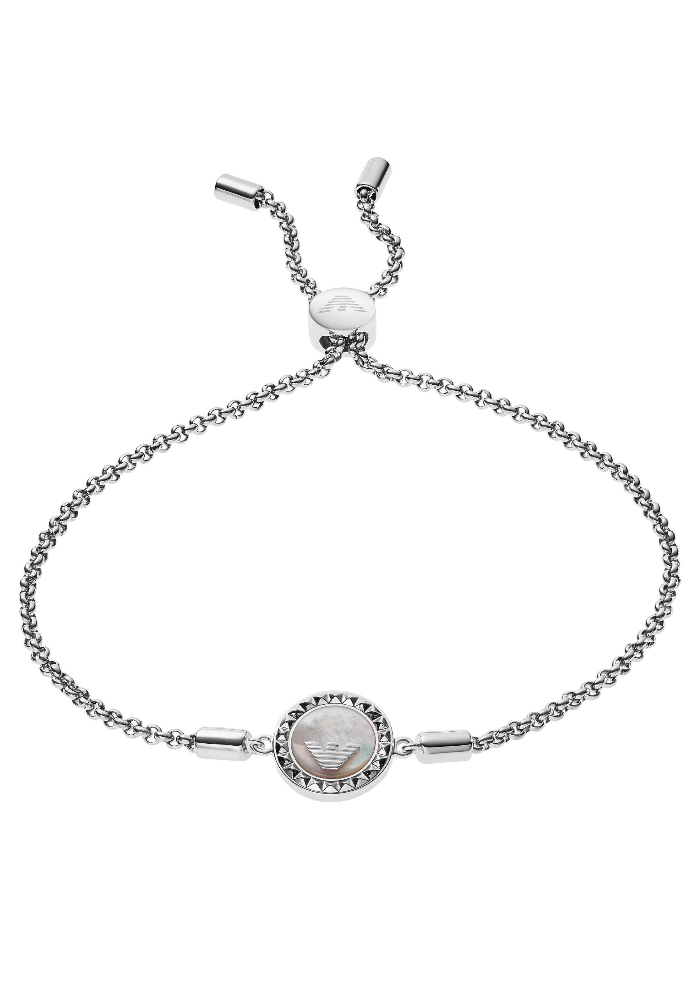 Emporio Armani Armband »SIGNATURE, EG3347040« mit Perlmutt