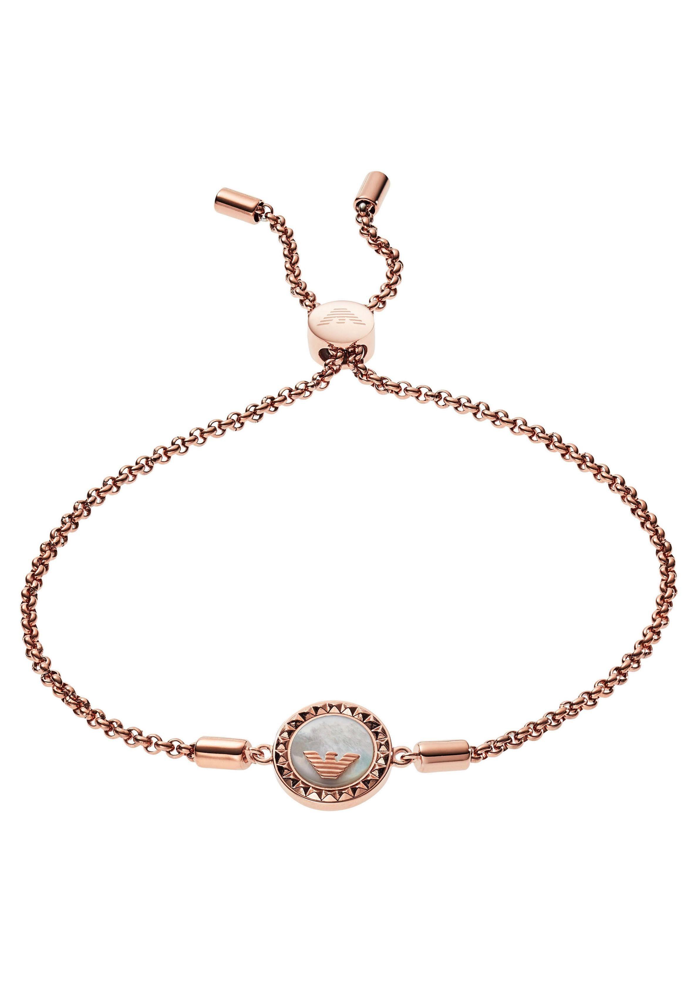 Emporio Armani Armband »SIGNATURE, EGS2568221« mit Perlmutt