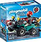 Playmobil® Konstruktions-Spielset »Ganoven-Quad mit Seilwinde (6879), City Action«, Bild 1