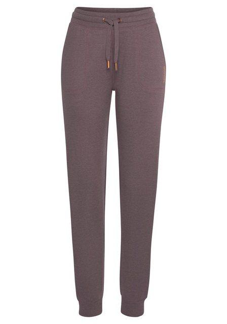 Hosen - Bench. Loungehose mit aufgesetzten Taschen › lila  - Onlineshop OTTO
