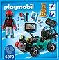 Playmobil® Konstruktions-Spielset »Ganoven-Quad mit Seilwinde (6879), City Action«, Bild 2