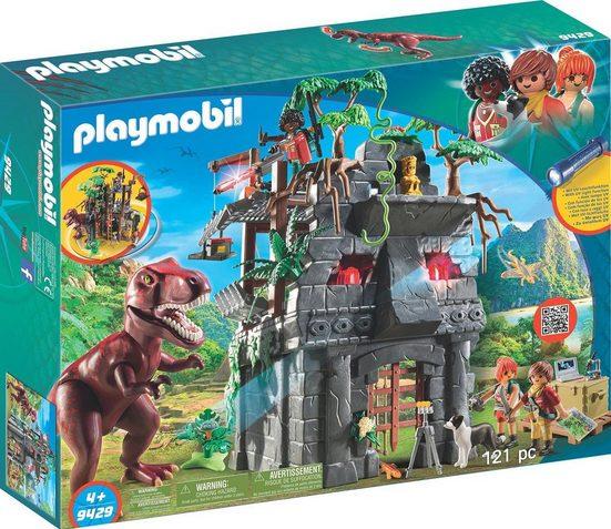 Playmobil® Konstruktions-Spielset »Basecamp mit T-Rex (9429), Dinos«
