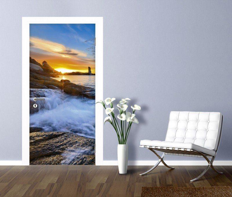 artland t rfolie palo ok sonnenuntergang am strand in thailand online kaufen otto. Black Bedroom Furniture Sets. Home Design Ideas